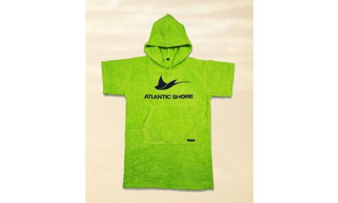 Atlantic Shore Surfponcho, green, short