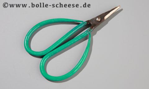 Authentic Blades kleine Bonsaischere, grün