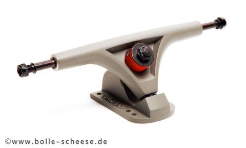 BOLZEN Longboardachse 180mm, grau, Paar