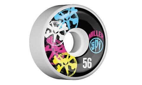 Bones SPF Miller CMYK Poolwheels 58 mm
