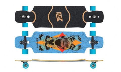 """DB Longboards """"Dyad 38"""" Komplettboard"""