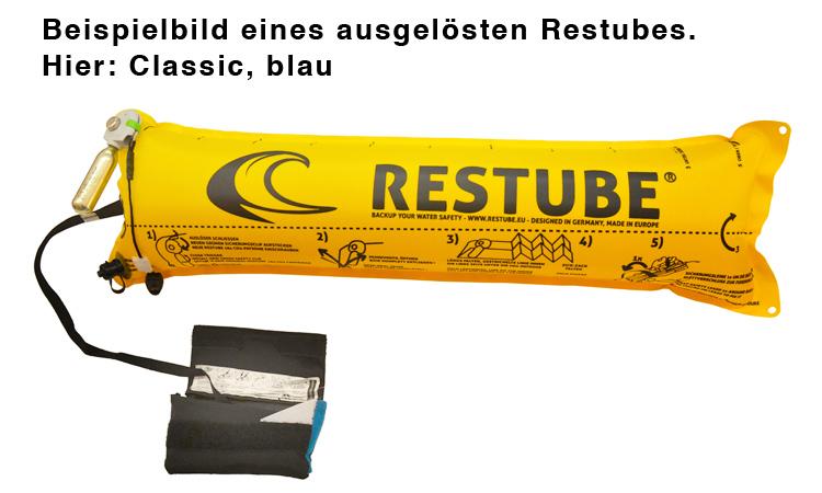 RESTUBE Rettungsboje Classic, rot