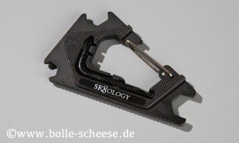 Sk8ology Karabiner Skatetool 2.0, black