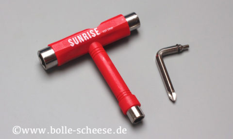 Sunrise T-Tool, rot
