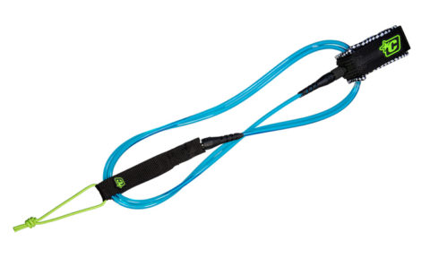 SUP straight Knee Leash, 10ft. Creatures o. Leisure, cyan