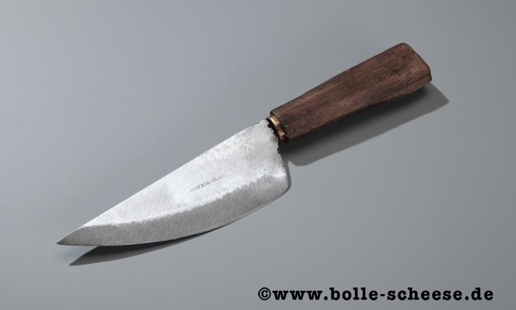 Authentic Blades Wiegemesser VAY, poliert, 16 cm