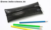 TJUUB Upcycling-Federmäppchen, schwarz