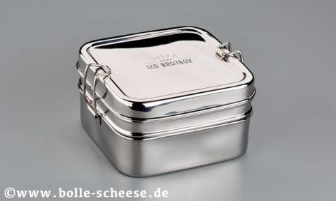 ECO Brotbox Cubebox XL 13,8x13,8x8,5 cm