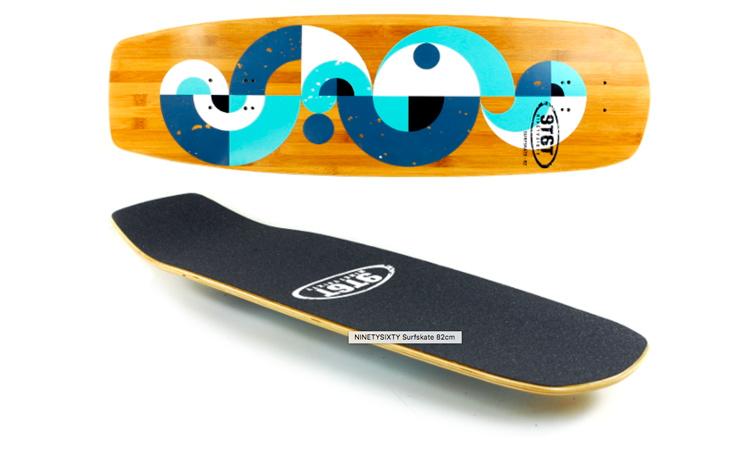 9T6T Surfskate Deck 82x24,5cm