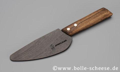 A.B. 12 cm Wiegemesser VAY mit dunkler Holzscheide