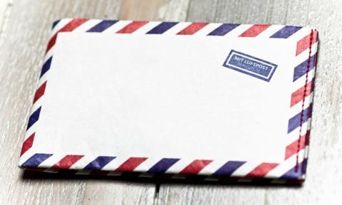 """paprcuts Portemonnaie """"Airmail"""""""