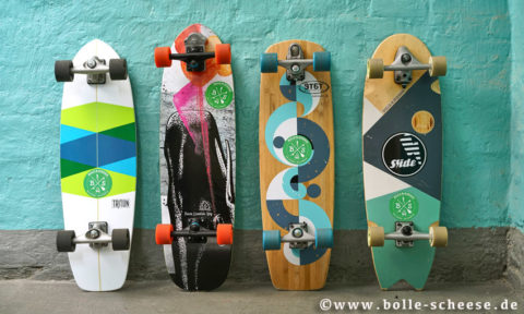 Surfskate, Miete pro Tag