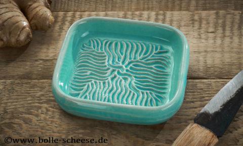 Ceramico Keramik-Reibe, türkis