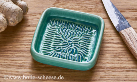 Ceramico Keramik-Reibe, hellgrün