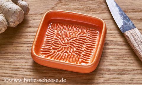 Ceramico Keramik-Reibe, orange