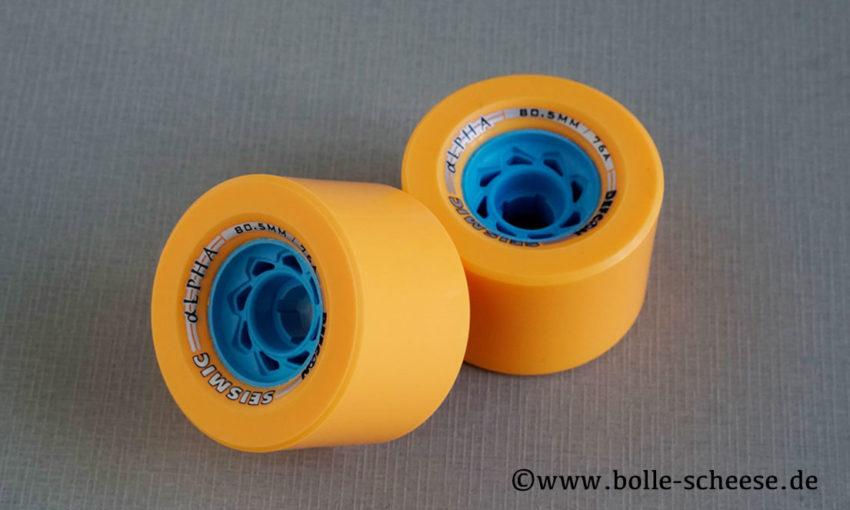 Seismic Alpha 80,5mm, 76 A LDP, 2 Wheels
