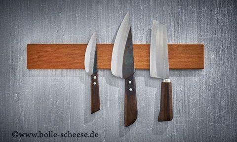 Magnetische Messerleisten